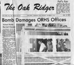 1972 ORHS in the news