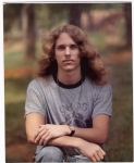 Dave Crume in 1975. Pretty scary, huh? Sure wish I still had all of that hair - what I could do with it today!