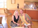 Jacqueline Doyle Allison and husband Mark in Cabo San Lucas, 2006.