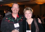 Karen Gray Carta & Dave Crume: Dave's feeling his oats, Karen is lookin' GREAT!