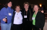 Some of the Goucher Circle Gang: Janice Combs, Mary Combs Anthony, Karen Gray Carta, Robin Cornett. Noticable absent is