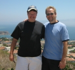 Jimmy McPeters and life partner of 18 years Jake in California
