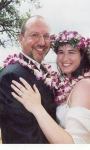 Gerard Zanolli and wife Angie Fleury Zanolli get married in Kauai, HI on 9/28/02